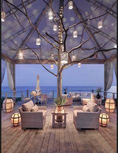 Les plus belles terrasses de Pinterest - Arbre