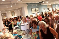 Robb & Stucky in Naples FL was one full house with 1200 people attending the event! And for a great cause- The Shelter for Abused Women and Children.  naplesshelter.org #candiceolson #keithisaac  #highlandhousefurniture