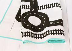 Nähanleitungen Wohnen - Nähset für einen Spielteppich - ein Designerstück von aici bei DaWanda