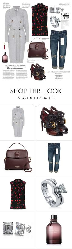 """Who's That Girl?!"" by waltos ❤ liked on Polyvore featuring Acne Studios, Burberry, moussy, Alexander McQueen, BERRICLE, Industrie, Bottega Veneta and Clé de Peau Beauté"