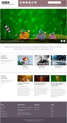 Yasmin - free wordpress theme