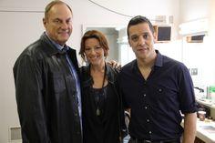 with Jim Treliving and Sarah McLachlan...