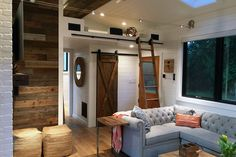Living Room - Hawaii House by Tiny Heirloom