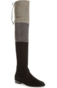 Stuart Weitzman 'Trio' Over the Knee Boot (Women) available at #Nordstrom