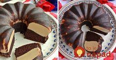Fantastická dvojfaberná bábovka s kakaovým cestom a výborným salko krémom. Oplatí sa vyskúšať.