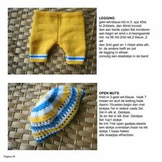Baby Doll Clothes, Crochet Doll Clothes, Doll Clothes Patterns, Clothing Patterns, Diy Clothes, Baby Dolls, Barbie Knitting Patterns, Baby Born, Knitted Hats