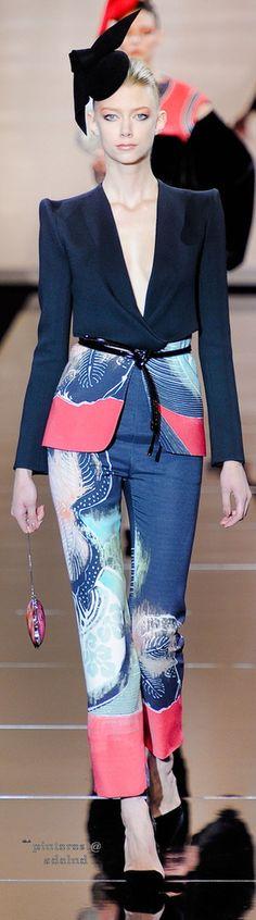 Armani Privé Fall 2011 Couture