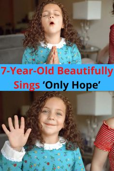 Kids these are days are pretty darn talented. Some even downright awe-inspiring. Take 7-year-old Sophie Fatu, for instance. She's well on the way to mastering her craft – singing.