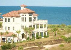 St Augustine FL beach mansion