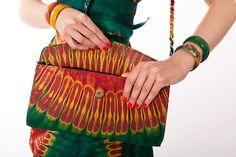 sac à main en tissu africain » Delphine «