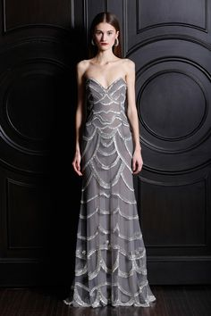 dress and the door (via Naeem Khan Pre-Fall 2013 Collection Slideshow on Style.com)
