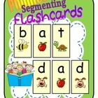 FREEBIE Teach the alphabet and sounds in context.  Students learn three sounds and they know a word!   CVC Segmenting Fl...
