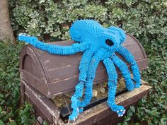 LEGO Blue Octopus