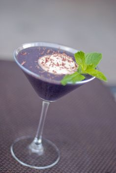 Paleo Blackberry Mint Smoothie (or use Basil) - Mother's Day recipe