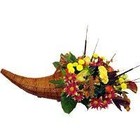 Thanksgiving Feast Cornucopia