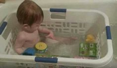 one great idea for bathing small children in a regular bathtub.... gives them not only a backrest, but keeps all their toys within reach.... just remember... the BASKET is NOT a BABYSITTER... do not leave child unattended.