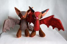 Stuffed bats