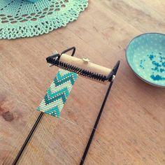 "85 Beğenme, 7 Yorum - Instagram'da 🍋 Emeline 🍊 (@lesagrumes): ""Mint obsession ! #jenfiledesperlesetjassume #crochet #napperonaucrochet #tissage #perles #miyuki .…"""
