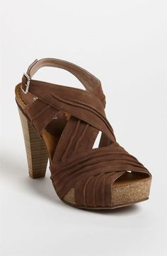I tried these on and they are crazy cute and ridiculously comfortable - they mold to your feet.  Many Cordani are on sale - click the picture to get to them!