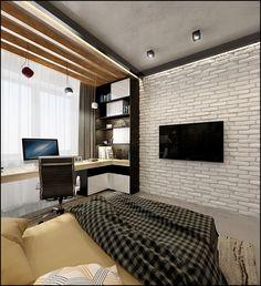 Interior Living Room Design Trends for 2019 - Interior Design House Design, Room Design, Small Space Interior Design, Home, Bedroom Design, House Interior, Home Office Design, Interior Design Living Room, Interior Design Bedroom