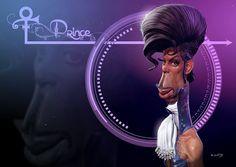 Prince por Petry - Caricaturas de Famosos