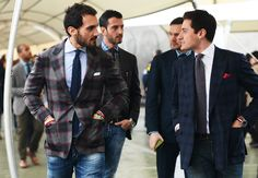 Tommy Ton's Street Style: Pitti Uomo Fall 2013: love that jacket