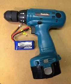 Convert old cordless tools to Lithium power