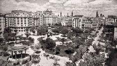 Zaragoza antigua plaza de los Sitios