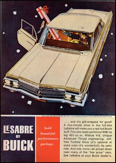 1962 CHRISTMAS Buick LeSabre