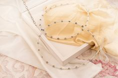 STEFANA Wedding Crowns  Orthodox Stefana  Bridal by LenaWeddings Wedding Crowns, Orthodox Wedding, Organza Ribbon, Bridal Crown, How To Make Bows, Pearl White, Silver Color, Arrow Necklace, Weddings