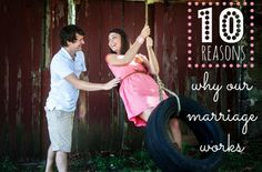Megan from All That Glitters blog, 10 Reasons Why Our Marriage Works, marriage tips