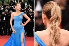 Blake Lively's Wavy Ponytail - The Most Gorgeous Hairstyles From Our Favorite Celebrities - Photos