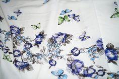 вискоза 40704035. вискоза ш 140 Италия пластичная легкая ткань на платье или тунику раппорт 60см. 500
