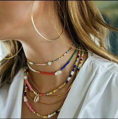 Zobacz, co znalazłem w AliExpress Cute Jewelry, Jewelry Accessories, Fashion Accessories, Fashion Jewelry, Jewelry Design, Beaded Choker, Beaded Jewelry, Jewelry Necklaces, Beaded Bracelets
