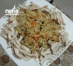 Özbek Pilavı (tek kelimeyle muhteşem) Pasta, Chicken Recipes, Food And Drink, Rice, Cooking, Foods, Kitchens, Bulgur, Essen