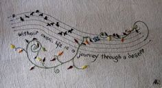 neat idea to stitch up... this would be so nice on the edge of pillow casing