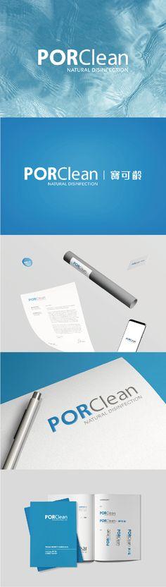 專案名稱:PORClean品牌識別系統設計 客戶名稱:台灣寶瓷水科技股份有限公司  以天然抗菌作為品牌主要核心理念,推出系列的專業商品。 標誌設計上我們將客戶所重視的「專業」訴求,設定為設計的第一方向,配色則以藍灰色搭配呈現,清爽乾淨的「藍」帶給標誌生命力,而灰色則為標誌添加了專業的質感,整體簡約大方卻不失穩重。  #品牌識別設計 #品牌形象設計 #平面設計  design-cc.com Showcase Design, Nature, Nature Illustration, Off Grid, Mother Nature