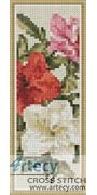 Azaleas Bookmark Counted Cross Stitch Pattern http://www.artecyshop.com/index.php?main_page=product_info&cPath=26&products_id=1256