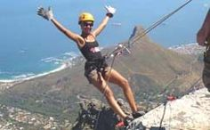 Hang out a kilometre high over Cape Town, or over crashing waves at the western head at Knysna, do a combination abseiling and canyoning trip on the S. Abseiling, Knysna, Nordic Walking, Crashing Waves, Cross Training, Cape Town, Hanging Out, Backpacking, South Africa