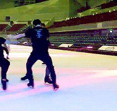 Yuzuru HANYU 羽生結弦 Nobunari Oda & Javier Fernandez Fantasy on Ice 2015