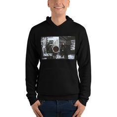 NY Unisex hoodie by CreativeWearOnline on Etsy