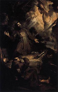 The Stigmatization of Saint Francis, by Rubens