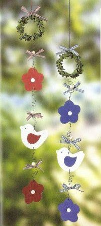 Mobiles Diy Wind Chimes, Crafty Craft, Paper Crafting, Mobiles, Hangers, Garland, Projects To Try, Activities, Crafts