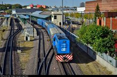 F601 Linea Belgrano Sur GE U12 at Buenos Aires, Argentina by Jorge Baez