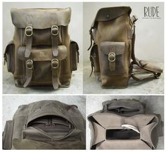 Stone Back pack full compartmen dimensi 29cm x 45cm x 14cm full genuine leather fullup