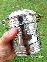kawanbike: Ultralight DIY Stove - Mini Cook Kit (Update)