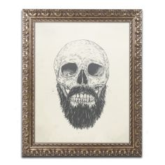 Balazs Solti 'The Beard Is Not Dead' Ornate Framed Art
