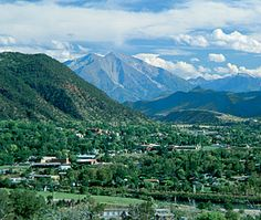 Glenwood Springs, Colorado - stopped here overnight for dad's birthday on our road trip to Vegas.  Gorgeous!