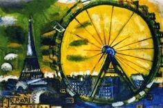 Some paintings, photos and curiosities of the Eiffel Tower in Paris http://designmuitomais.blogspot.com.br/2015/03/algumas-pinturas-fotos-e-curiosidades.html