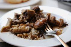 Tapas - seasoned mushrooms